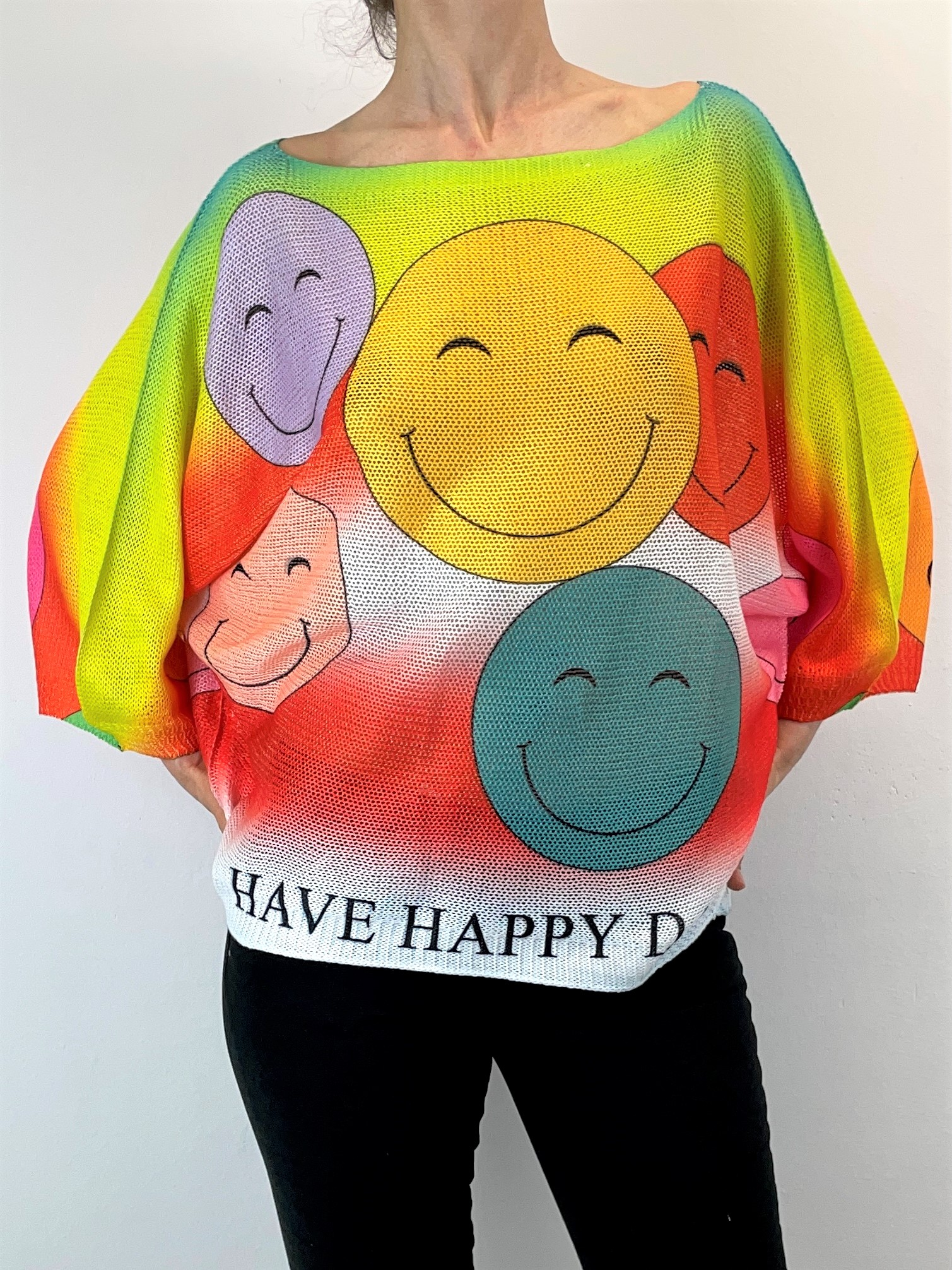 """""""Smiley"""" Pullover"""