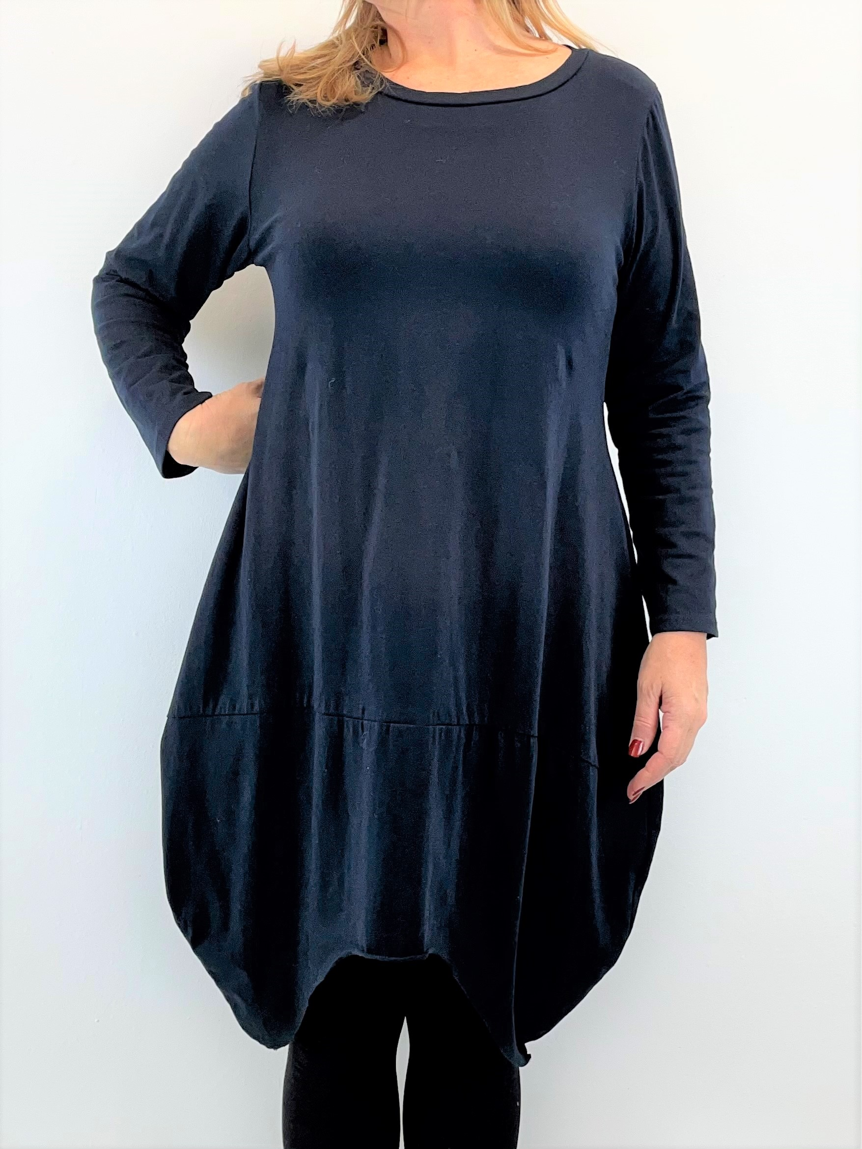 Egg Shape Kleid in Jersey Qualität