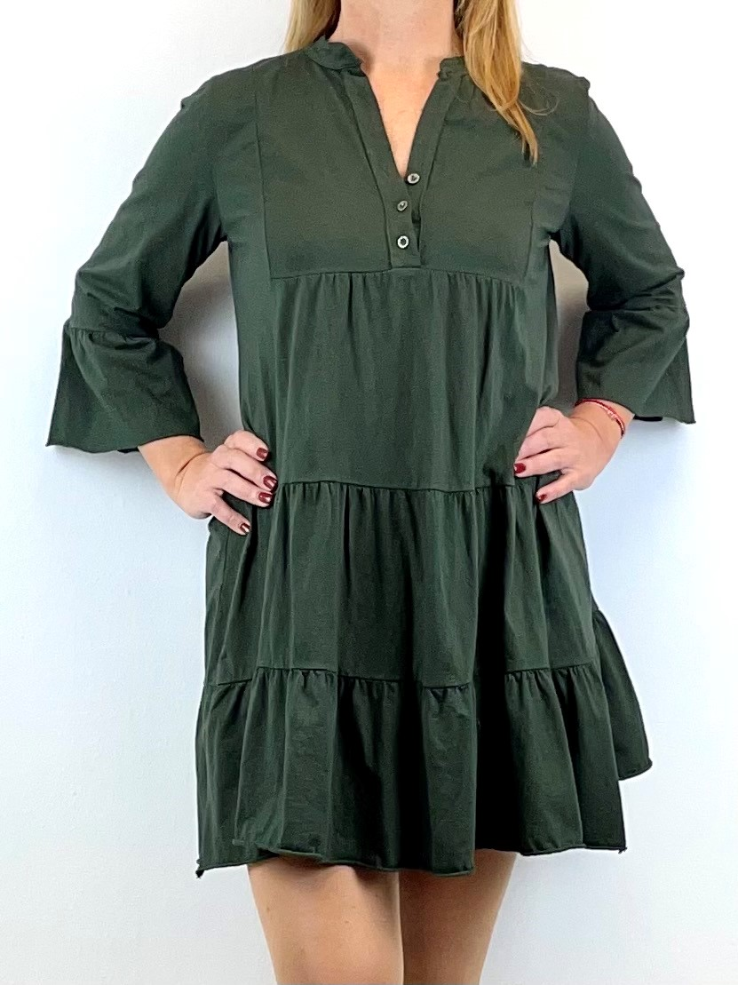 Boho-Style Tunika-Kleid Jersey